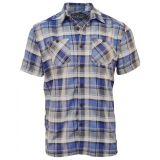 Karo Shirt von King Kerosin Limited Edition - Flathead / blue Karo