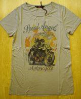 T-Shirt von Queen Kerosin - Speed Angel - Racer Girl / Stone