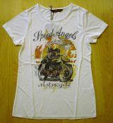 T-Shirt von Queen Kerosin - Speed Angel - Racer Girl / off white