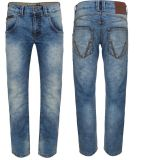 BIKER JEANS from King Kerosin - SPEEDMEN / POWER STONE