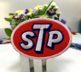 Patch - STP / small - Rand silber
