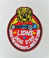 Patch - Lions Drag Strip