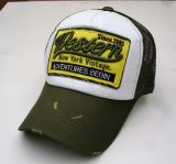 Vintage Trucker Cap - Western / New York Vintage - green