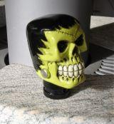 Shiftknobs - Totenkopf Frankenstein grün