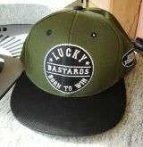Snapback Cap von King Kerosin - Lucky Bastard / Born to Win