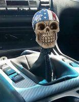 Shiftknobs - Skull with US Bandana