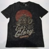 King Kerosin Regular T-Shirt / Gas & Glory - black