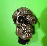 Schaltknauf- Pirat Skull / Silver