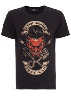 King Kerosin Regular T-Shirt / Devil Inside - Born Bad
