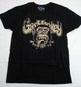 Gas Monkey Garage T-Shirt - Distressed with Blood, Sweet & Beers / beige