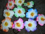 Haargummi Blume - gemischte Farben