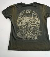 Used Airbrush Shirt von King Kerosin - Hellracer / olive