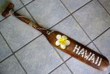 Classic Tiki Wood Paddel - Hawaii gelbe Blume / large