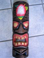 Tikis Woodie Sign / Medium - Tiki Nr.20