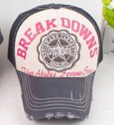 Vintage Trucker Cap - Break Downs No.68 / Schwarz - braun