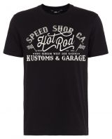 King Kerosin Regular T-Shirt / Speed Shop CA - black
