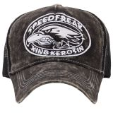 Trucker Cap von King Kerosin - Speedfreak / schwarz