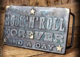 Rumble 59 Buckle - Rock`n`Roll Forever / Vintage Patina