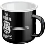 Emaille Tasse / Route 66