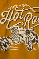 Worker Hemd *Limited Edition* von King Kerosin - Hot Rod, Gold/braun