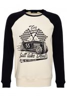 Raglan Sweater von King Kerosin - Salt Lake Devil