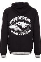 KING KEROSIN Hooded jacket in a college look : Speedfreak