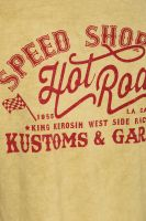 Oilwashed-Shirt von King Kerosin - Speed Shop CA