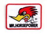 Patch - Mr.Horsepower / rechteckig