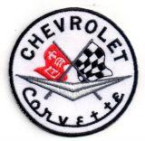 Patch - Chevrolet Corvette / rund