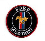 Patch - Ford Mustang / rund
