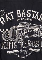 Worker Hemd *Limited Edition* von King Kerosin - Rat Bastard / black
