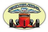 Vintage Race Sticker - Super Bell Axel