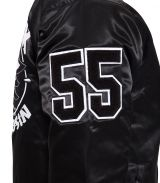 College Satin Jacket - Speedfreak / schwarz