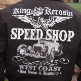 King Kerosin *Limited Edition* Workerjacket schwarz - Speed Shop West Coast / Limited Edition