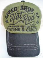Trucker Cap von King Kerosin - Speed Shop CA. / grün-schwarz