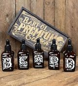Schmier Beard oil set with 5 fragrances from Rumble59