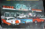Retro Blechschild - AL Mac`s Diner