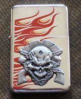 Feuerzeug-Skull Revolver/Lucky Gambler