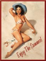 Magnet - Pinup Girl: Enjoy the Summer / 14152