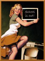 Magnet - Pinup School / 14172