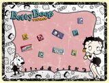 Magnettafel Set. - Betty Boop Vintage / 25009