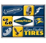 Magnet Set. - Goodyear / Logos