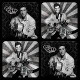 Nostalgie Blechuntersetzer - Elvis