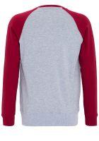 Raglan Sweater von King Kerosin - Garage Built / rot