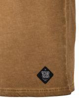 Vintage T-Shirt von King Kerosin - Hot Rod / tobacco braun