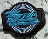 Patch - ZZ Top / blau