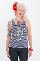 Tank Top von Queen Kerosin - Scare the Sailors / navy