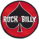 Patch - Rock a Billy Pik / red small