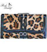 Rock Daddy Wallet - Black with Leopard pattern