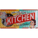 USA Retro Blechschild - Kitchen
